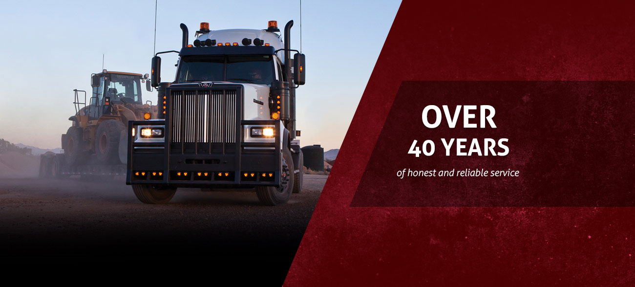 40 years of honest and reliable service